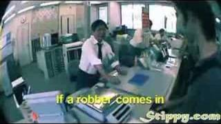 Japan's Unique Way Of Preventing Store Robbery
