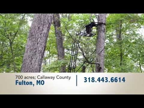 World Class Missouri Deer Hunting Property & Equipment For Sale at Auction