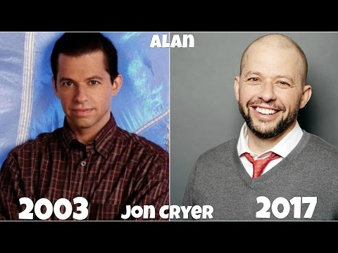 Two and a Half Men Then and Now 2017