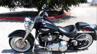6. 2008 Harley-Davidson FLSTN Softail Deluxe For Sale