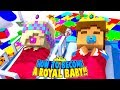Little Donny Is A New Born Royal Baby Prince  Minecraft Roleplay