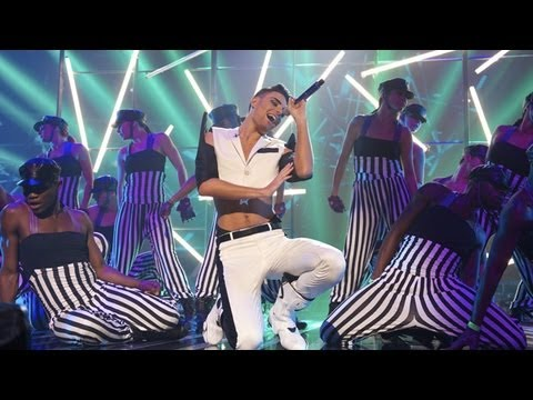 Rylan Clark sings a Jennifer Lopez / Rihanna medley -  Live Week 3 - The X Factor UK 2012