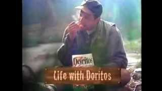 Doritos Pizza Hut Chips Ad with Beavers from 1996