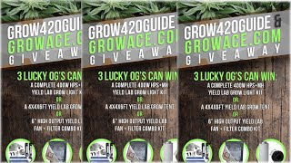 Win Indoor Garden Equipment!!! GrowAce Giveaway!! (CLOSED) by Grow420Guide