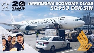 Video IMPRESSIVE Economy Class Service | Singapore Airlines Star Alliance | SQ953 Jakarta to Singapore MP3, 3GP, MP4, WEBM, AVI, FLV November 2018