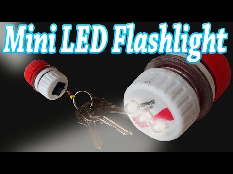 How to Make a Mini Led Flashlight Keychain Home