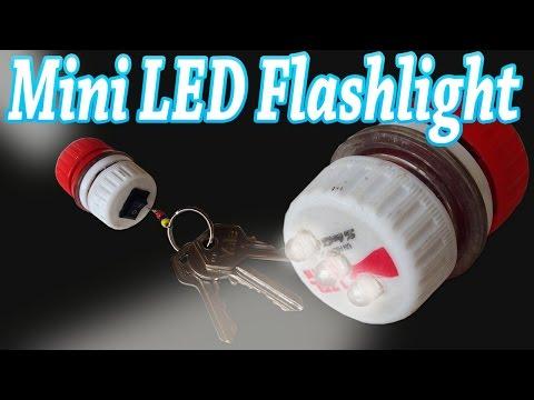 How to Make a Mini Led Flashlight Keychain Home