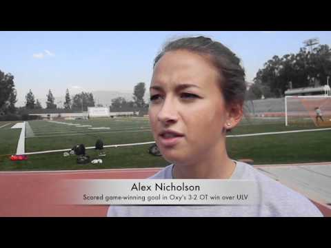 Nicholson on game winning goal