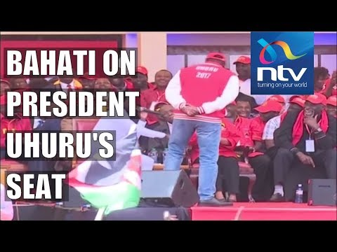 Bahati unseats President Uhuru Kenyatta, sings to the First Lady