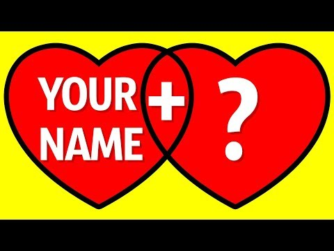 Tell Me Your Name, And I'll Reveal Your True Soul Mate