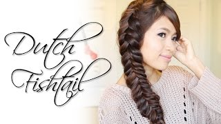 Dutch Fishtail Braid Hairstyle | Hair Tutorial - YouTube