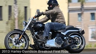 6. 2013 Harley-Davidson Breakout First Ride - MotoUSA
