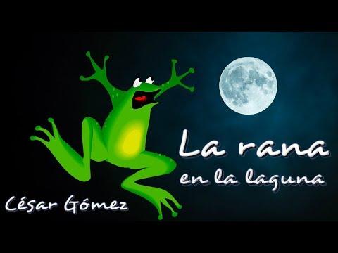 Poemas cortos - Poema infantil -  La rana en la laguna -  Poesía para niños en Youtube