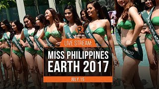 The Miss Philippines Earth pageant will be held on Saturday, July 15, at the Mall of Asia Arena. More on http://s.rplr.co/yv3eE3d Follow Rappler on Social Media: ...