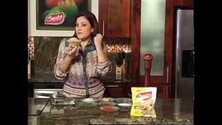 Snacker con Ceviche de Plátano Verde