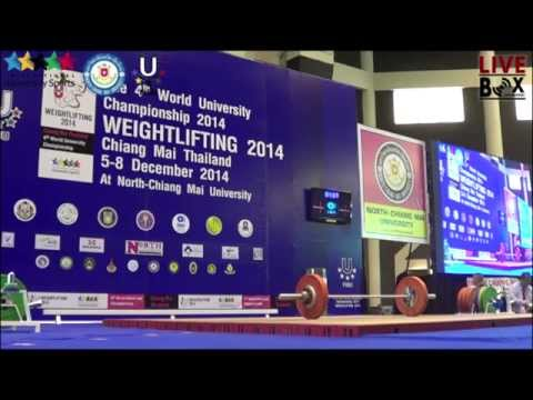 4th FISU World University Championships วันที่ 07.12.2014 รุ่น 85 AKg