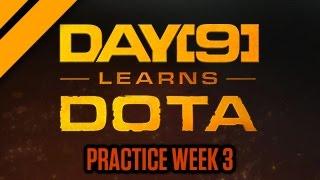 Day[9] Learns Dota - Practice Week 3 Video