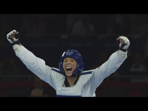 taekwondo - Taekwondo Women -67kg Gold Medal Final - Great Britain v China. Full Replay from the ExCeL - South Arena 1 at the London 2012 Olympic Games. -- 9 August 2012...