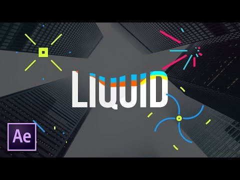 Create The Liquid Effect For Motion Graphics | After Effects Tutorial
