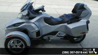 9. 2010 Can-Am Spyder RT Audio & Convenience  - Jim Walkers ...