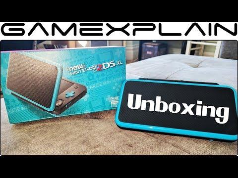 New Nintendo 2DS XL UNBOXING + Size Comparison vs 3DS XL & Switch