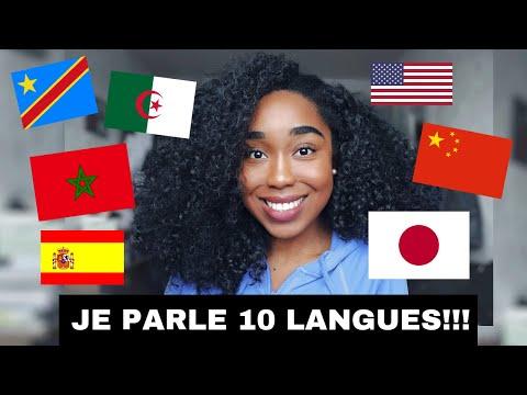 JE PARLE 10 LANGUES AVEC VOUS (avec sous-titres) | FRENCH GIRL SPEAKS 10 LANGUAGES (with subtitles)