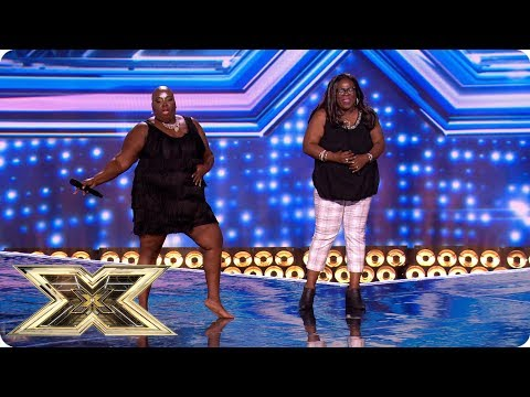 Panda And Burgandy Blow The Roof On Their Debut Performance! | The X Factor UK 2018
