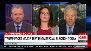 CNN Morning Show Trump faces major test in GA special election today