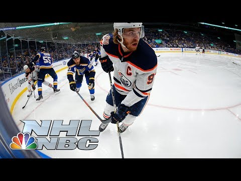 Video: Connor McDavid scores game-winner in shootout for Oilers I NHL I NBC Sports
