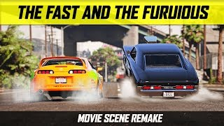 Nonton Grand Theft Auto 5 - The Fast and the Furious Drag Scene Film Subtitle Indonesia Streaming Movie Download
