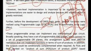 Mod-03 Lec-01 Two Level Boolean Logic Synthesis-1
