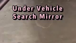 Under vehicle inspection mirror with long handle 158cm length 30cm width round type vehicle mirror youtube video