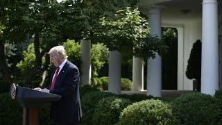 Trump pulls US from Paris accord (full speech)