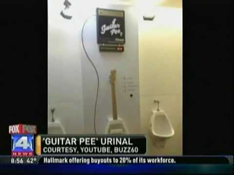 Piss those rock and roll dreams away with the GuitarPee