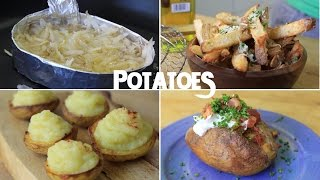 10 Creative Recipes Using Just a Potato (Part 1)