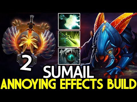 , title : 'SUMAIL [Weaver] Annoying Effects Build Nightmare is Real 7.23 Dota 2'