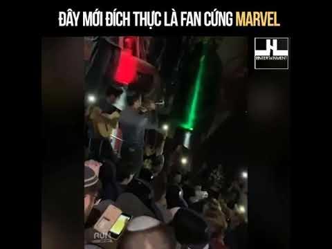 Fan cứng của Marvel - End game - Thời lượng: 39 giây.