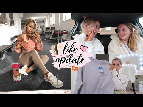 LIFE UPDATE / GETTING BACK INTO FITNESS VLOG  ELLE DARBY  AD