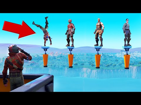 Do A HANDSTAND But DON'T FALL OFF! (Fortnite Simon Says)