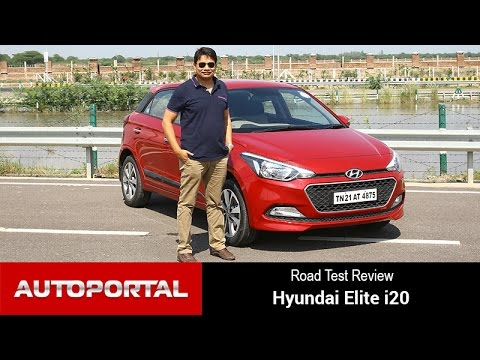 Hyundai Elite i20 Test Drive Review – Autoportal