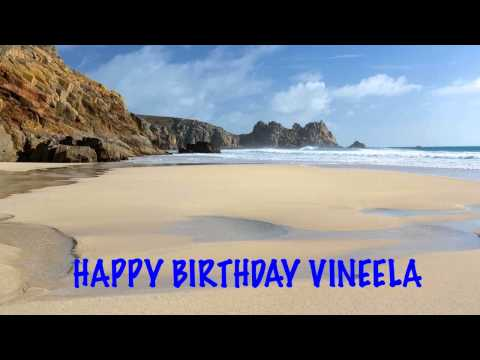 Vineela - FREE - Find your name at http://www.1happybirthday.com/findyourname.php?n=g BIRTHDAY BEACHES & PLAYAS DE CUMPLEAÑOS - A video birthday card with your name. F...