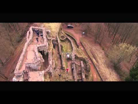 UAV-Inspektion & Vermessung von Ruinen.