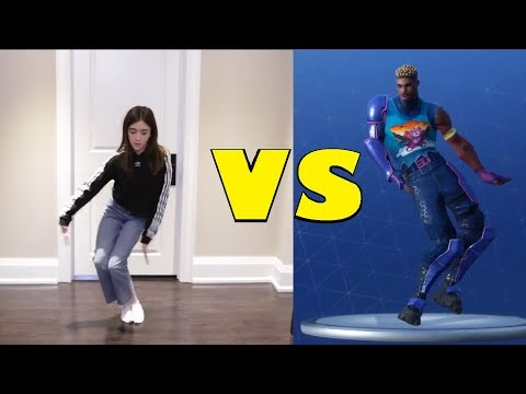 BEST OF EH BEE FAMILY FORTNITE DANCE CHALLENGES! - (In Real Life)