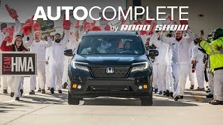AutoComplete: Honda's new Passport already started production by Roadshow