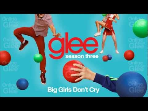 Tekst piosenki Glee Cast - Big Girls Don't Cry po polsku