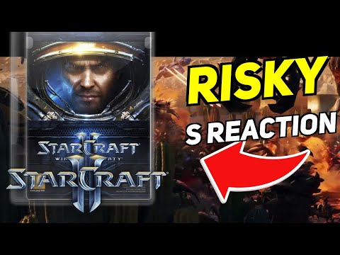 Daily Starcraft Highlights: RISKY's REACTION LOSING TO PROBE