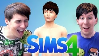 MEET 'DIL HOWLTER' - Dan and Phil Play: The Sims 4 #1 full download video download mp3 download music download