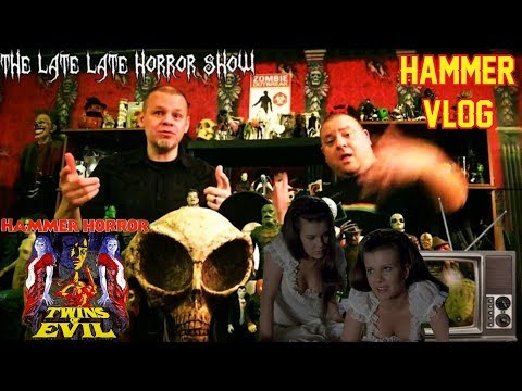 TWINS OF EVIL 1971 HAMMER HORROR MOVIE REVIEW VLOG