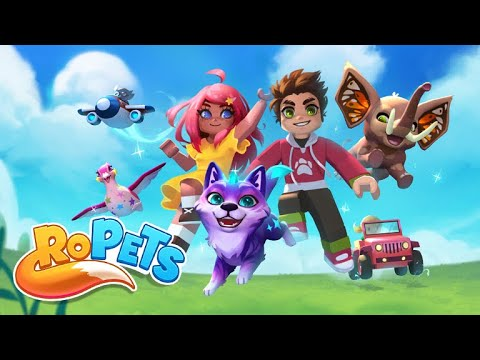 RoPets - Multiplayer Family-Friendly Fun!
