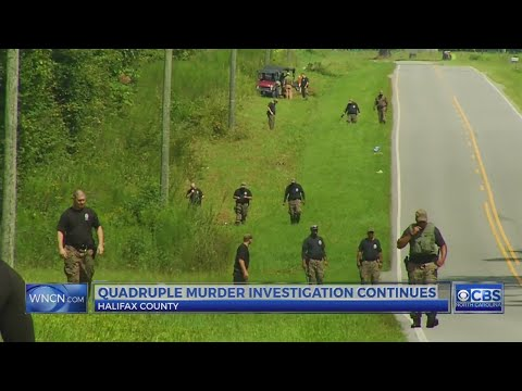 Search continues for clues in Halifax County quadruple murder